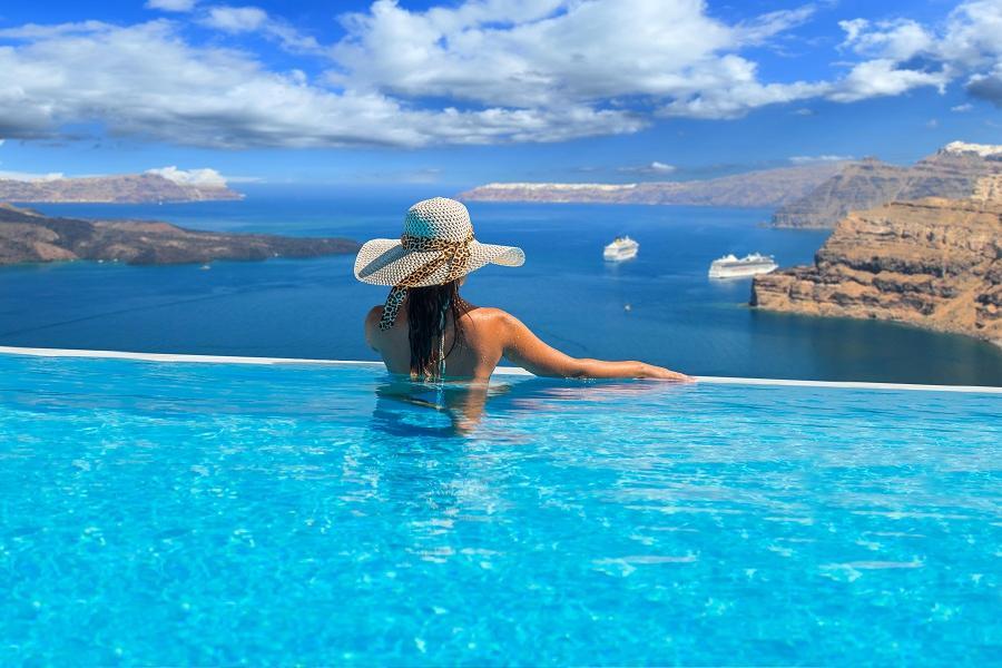 【蜜月典藏】希臘愛琴海3島、雙點進出、3晚五星、德爾菲、天堂海灘10日