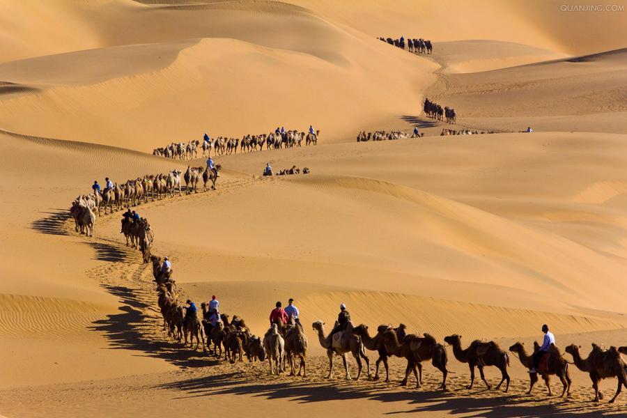 秋季內蒙、草原牧民家訪、成吉思汗陵、足踏沙漠響沙灣五日 ( 無購物 )