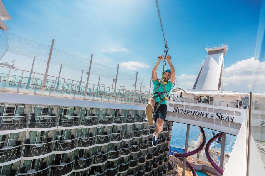 【皇家加勒比國際遊輪】海洋交響號~海上巨無霸、陽光沙灘中美洲11日