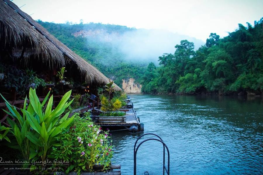 探索泰國6人成行~桂河大城之旅、 泰緬鐵路、桂河水上屋、小吳哥窟五天
