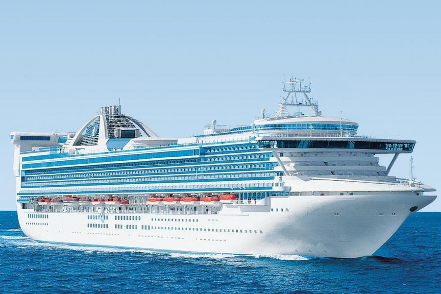 【公主遊輪】藍寶石公主號 ( 基隆上船 ) ~鹿兒島、廣島、別府7天 ( 陽台‧二人一室 )