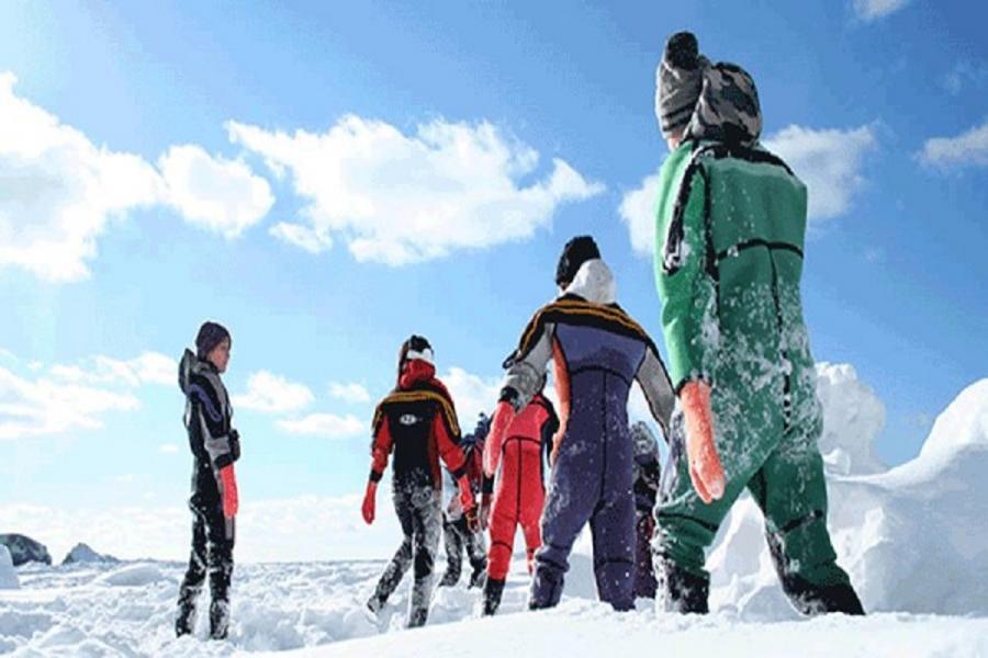 【北海道知床極光嘉年華】、網走流冰船、知床流冰漫步、可愛北極熊5日