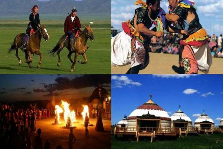 【長榮航空】內蒙古成吉思汗、希拉穆仁草原、響沙灣騎駱駝八日
