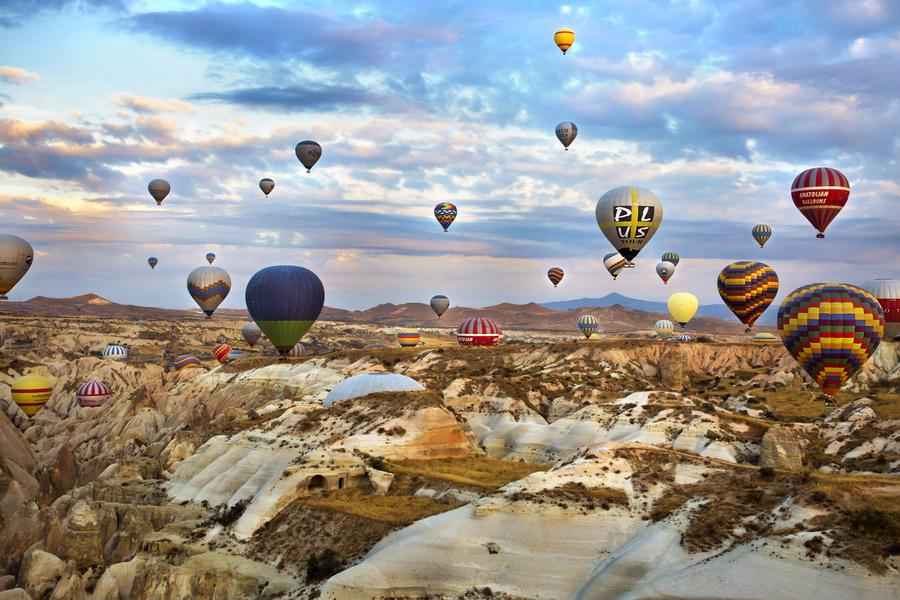 土耳其、伊斯坦堡歷史群、布爾薩古都、棉堡、地下城市10日