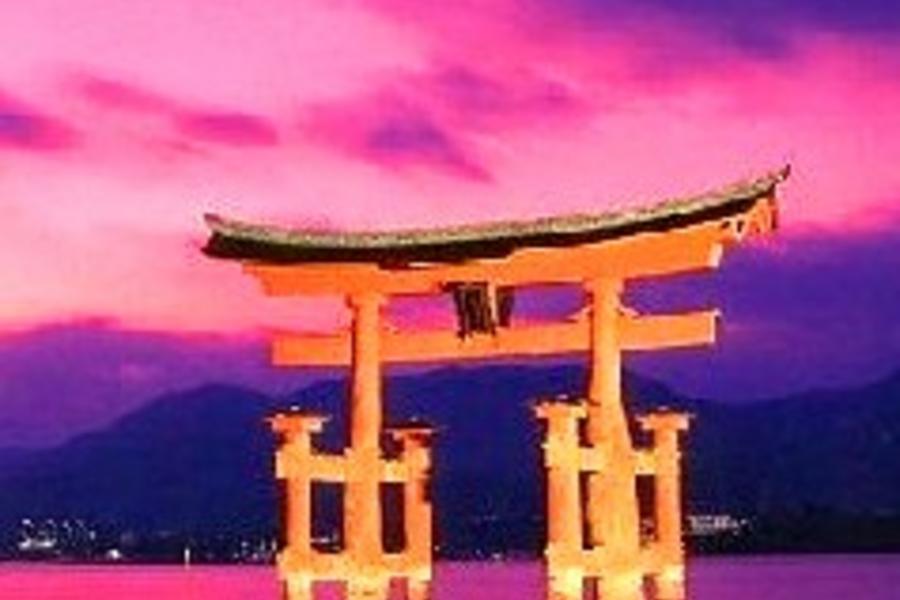 《四國漫舞》日本宮島~海上神社.神隱少女.和風美學再發現5日