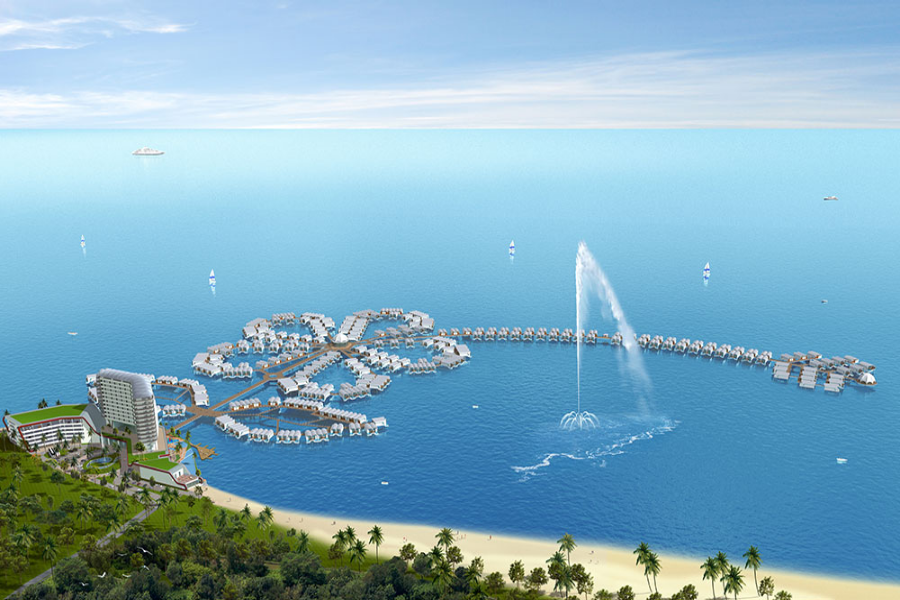 馬來新視界~大紅花泳池、高空熱氣球、漫步雲端SKY BAR 5 日