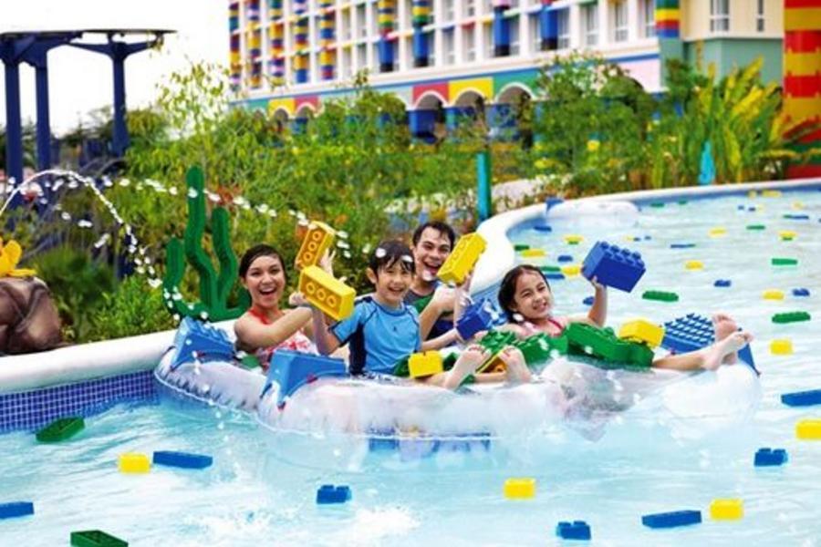 渡假新享受~雙樂園 海邊渡假+樂高樂園+環球影城+夜訪螢火蟲 五日