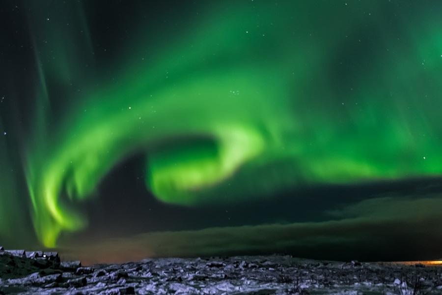 魅力歐洲~北歐冰島魔幻極光英倫9天~賞極光遊船、金環三合一、雪上摩托車