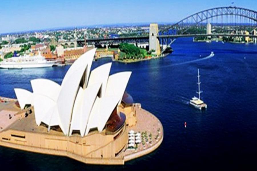 【賺很大】雪梨嘗鮮~升級超霸氣海鮮拼盤、澳洲農莊羊毛秀6日