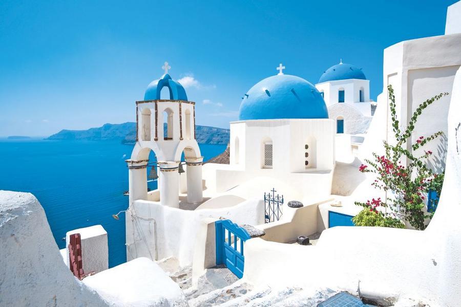 希臘雙點進出、天空之城、德爾菲、雅典衛城、愛情海跳島遊10日