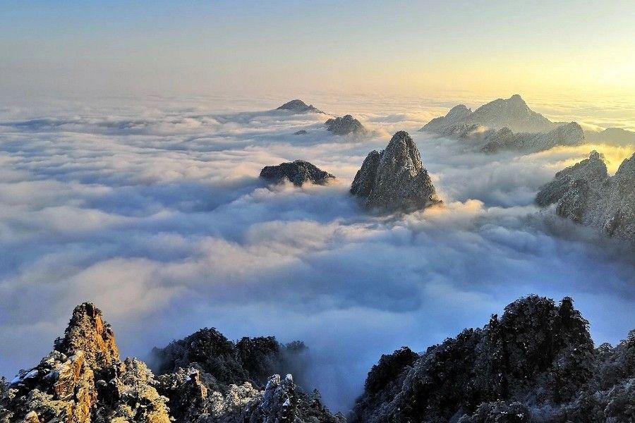 冬戀黃山來看雪、走訪宏村四日 【無購物.山上乙晚】