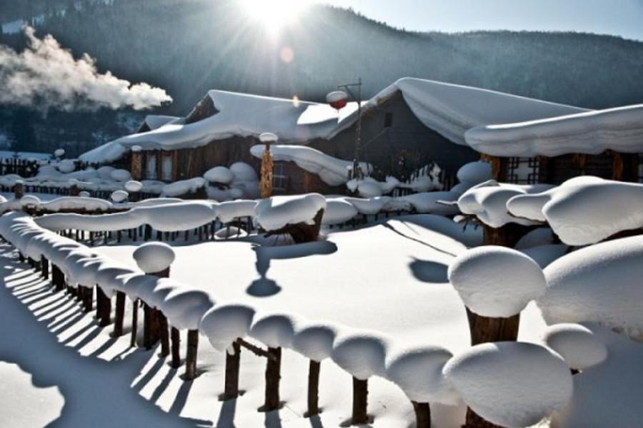 【長榮航空】東北濱紛雪世界、太陽島雪雕、雪鄉戲雪、鏡泊湖冰瀑八日《哈爾濱進出、無購物、二晚五星酒店》