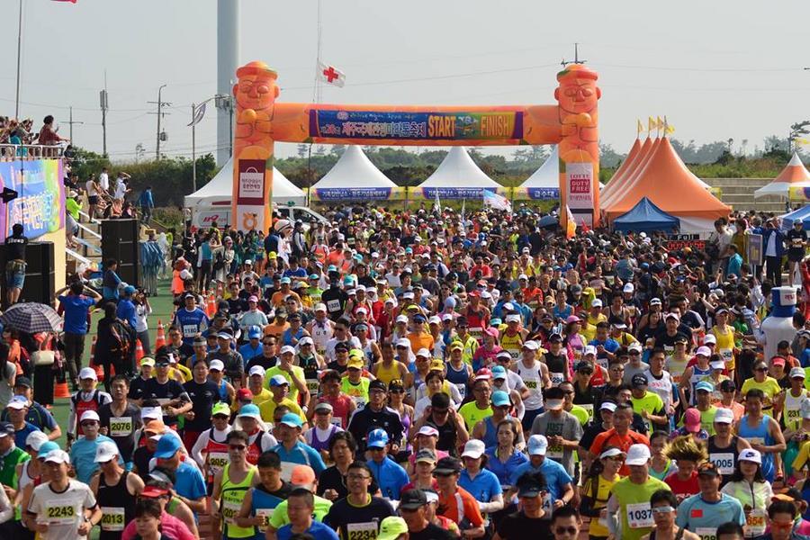 【主題旅遊】2019濟州國際觀光馬拉松五日-涯月的夢想咖啡館、塗鴉秀