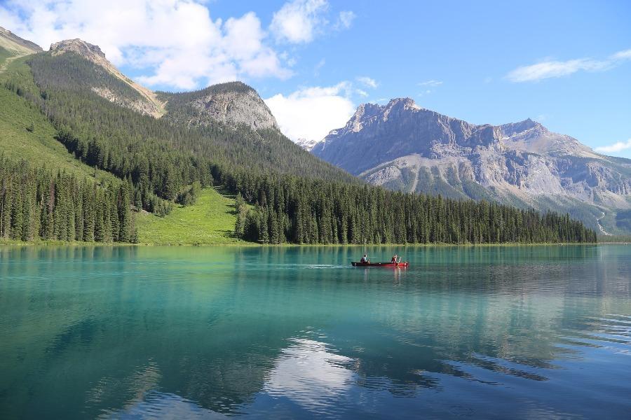 絕美加拿大~五大國家公園、四大名湖、冰原雪車、冰河天空步道10日