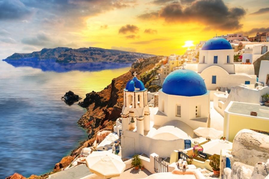 魅力歐洲!希臘愛琴海全覽13日 (彩虹島、米克諾斯島、聖多里尼島)