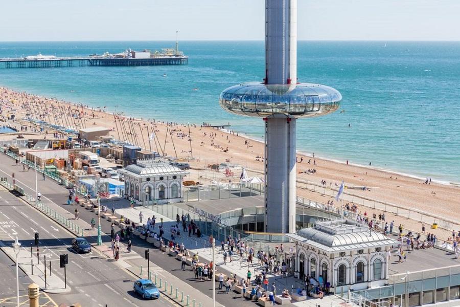 英倫8日~i360海濱景觀塔、史前巨石陣、柯茲窩唯美小鎮、倫敦雙博物館