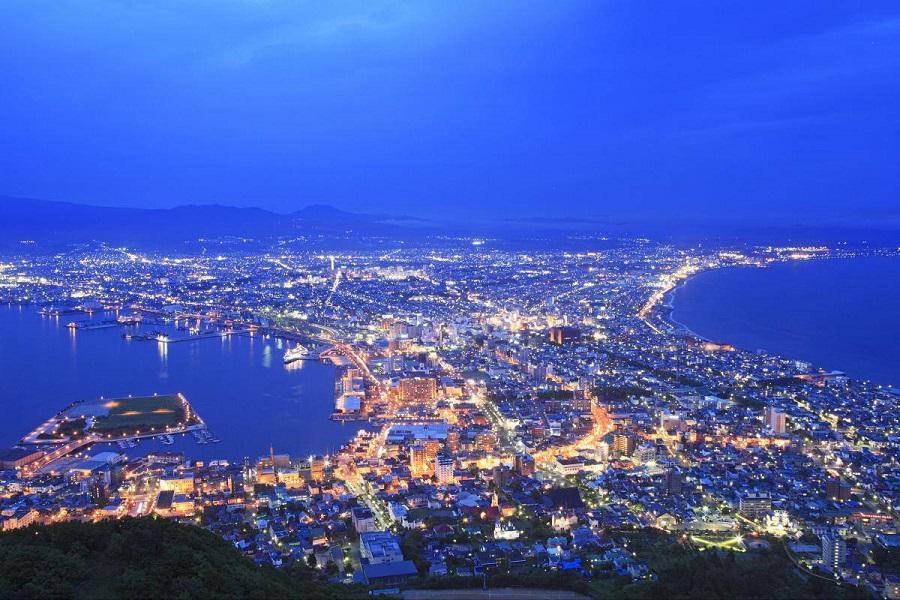【北海道繽紛彩繪】函館山夜景.尼克斯海洋公園.白色戀人館.支笏湖5日