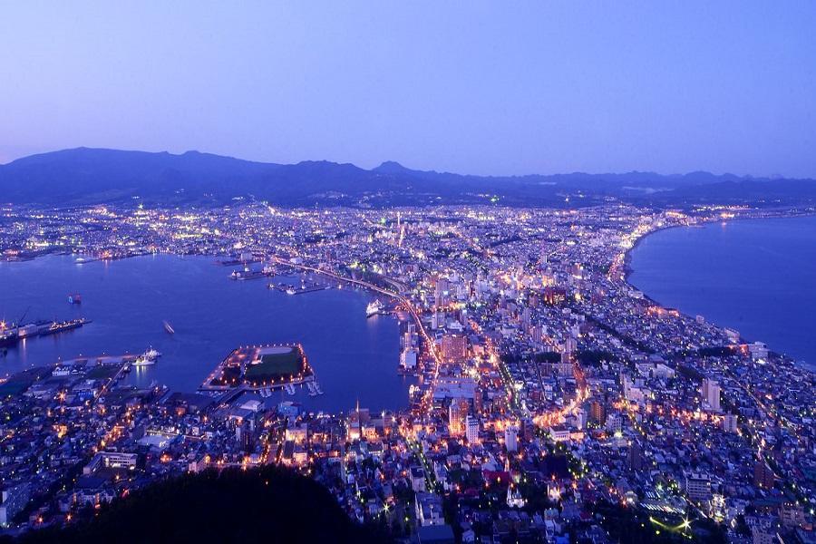 【北海道散策】尼克斯海洋公園、函館山百萬夜景、小樽運河、摩天輪5日
