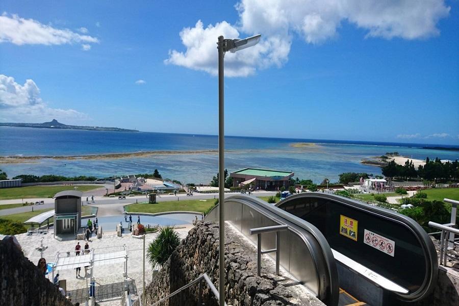 【沖繩花漾超值】古宇利塔、恐龍公園、永旺商城、水族館4日---入住海邊飯店一晚