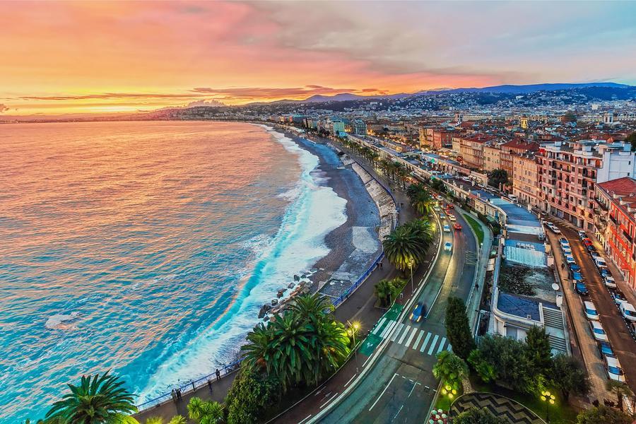 【賺很大】法義雙點進出、蔚藍海岸、雙列車、彩色島、米其林一星12日