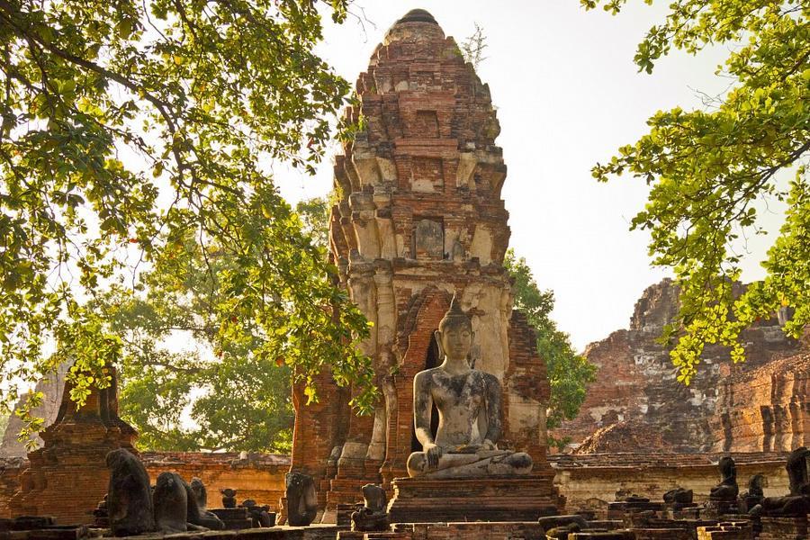 漫時光-聖獅公園、泰式指壓、湄登叢林騎象、龍坤白廟、蘭娜古城之旅6日