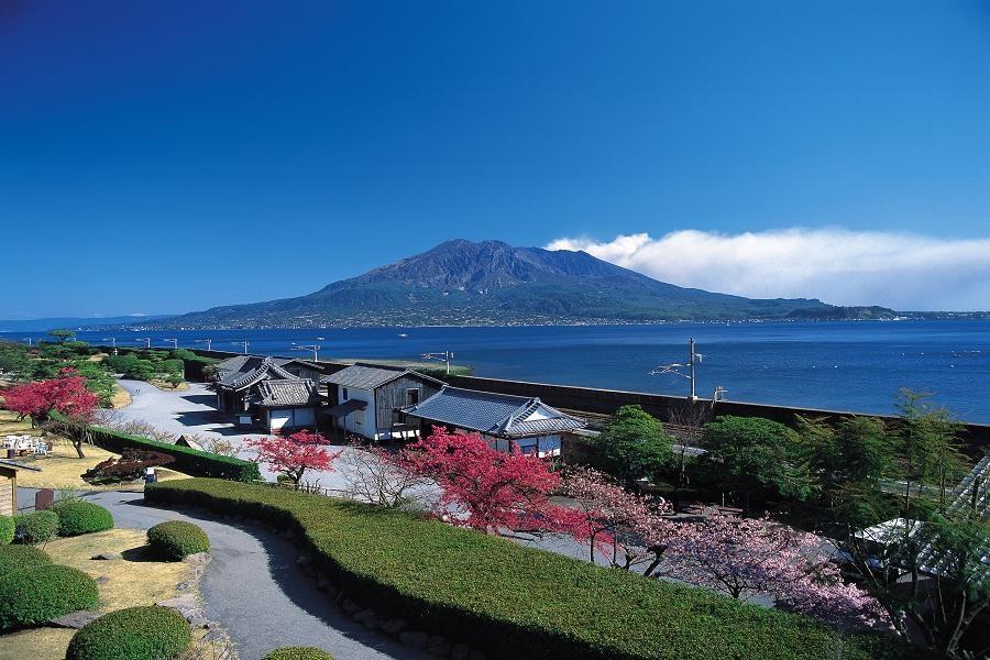 【享樂南九州】櫻島火山、磯庭園、水前寺、釜蓋神社、指宿砂浴5日