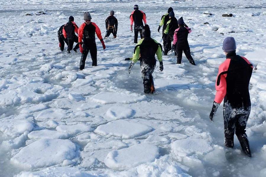 【北海道冰雪奇航&知床流冰漫步】破冰船體驗.阿寒湖冰戲雪.小樽運河6日