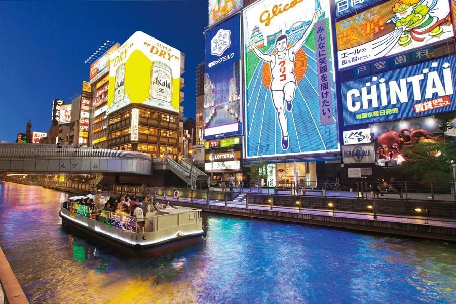 【閃GO大阪】日本京都伏見嵐山大阪吃喝玩樂自由散策5日