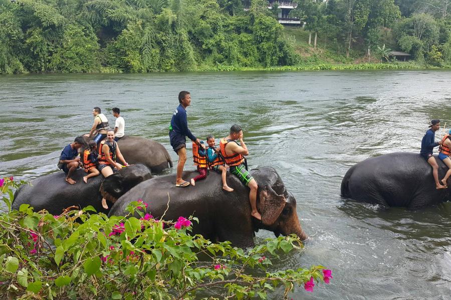 【泰國祕境探索】茉莉之城、桂河鐵路火車搭乘、山林秘境酒店五日《含稅金》