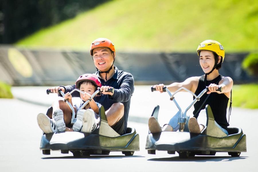 【升等市區】夏日饗宴~斜坡滑車、朝陽紡織咖啡、傳燈寺、冰雪&愛寶5日