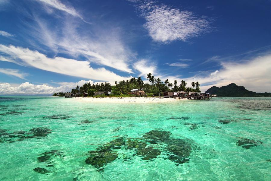 陽光沙巴~長鼻猴、海上國家公園活動、精油SPA、老虎蝦海鮮餐