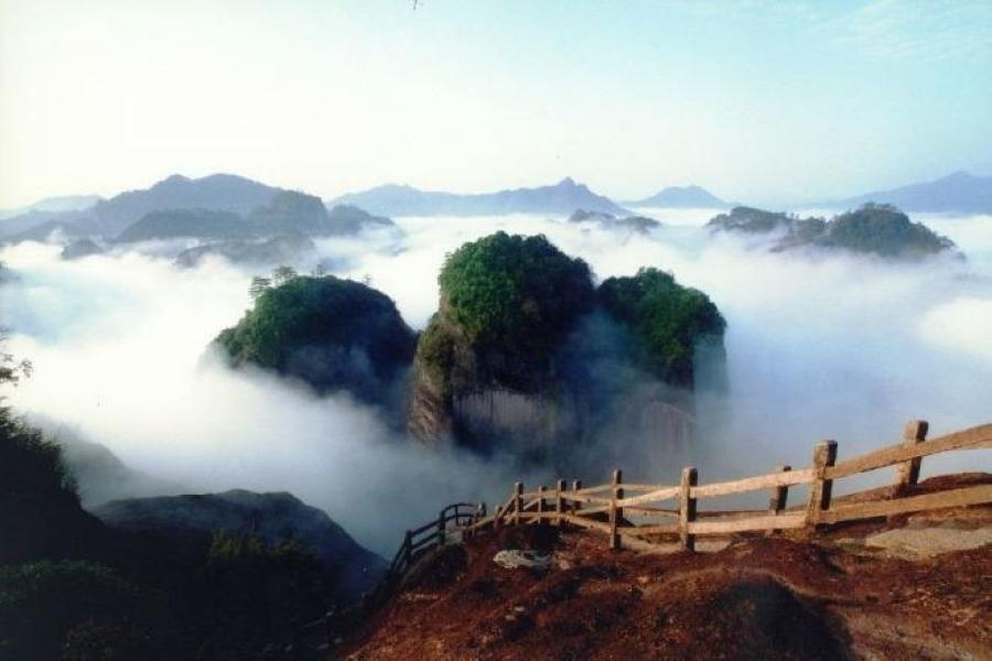 【直飛福州醉美武夷山】雲頂景區、船遊九曲溪、雙高鐵、送印象大紅袍5日