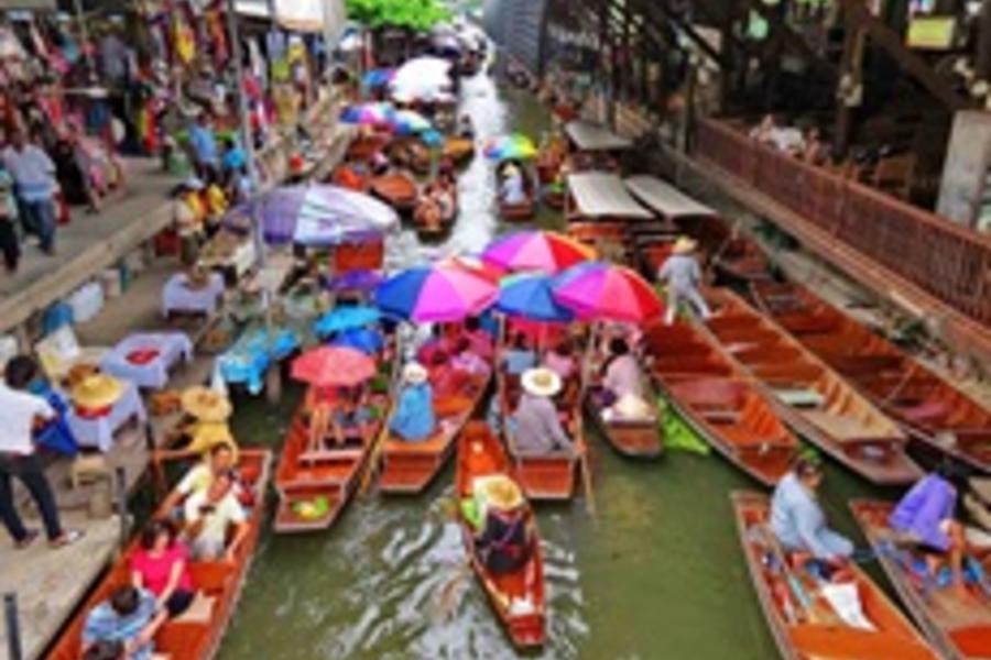 泰享樂無購物-帝王蟹生猛海鮮吃到飽、水上市場、 世紀航海王、人妖秀五日