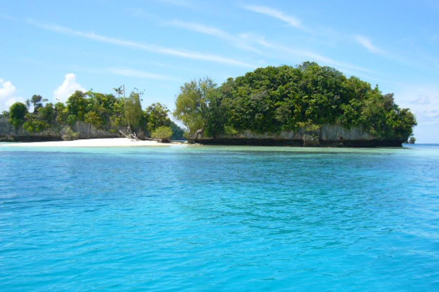 【泛太平洋渡假村】帛琉頂級北島夜釣、大斷層、牛奶湖、海豚灣6日