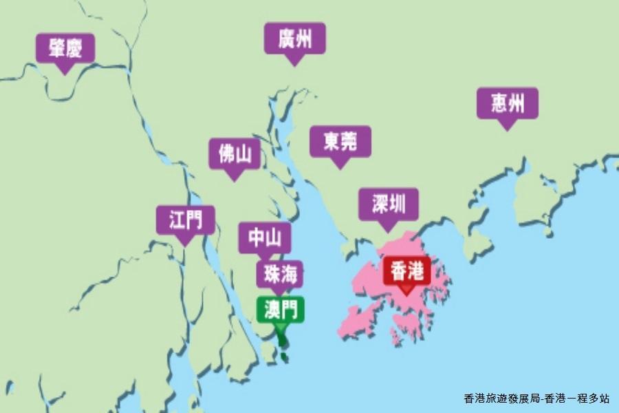 【香港一程多站】港澳珠大橋+香港廣東美食團體五日(含稅)