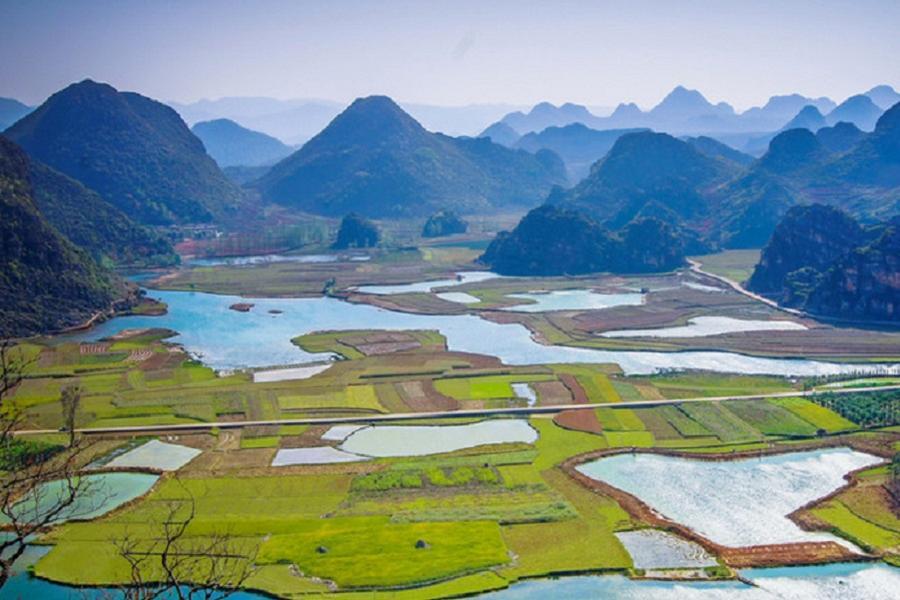 【印象中國港轉】上帝遺失的調色盤紅土地、普者黑、 滇東南秘境八日
