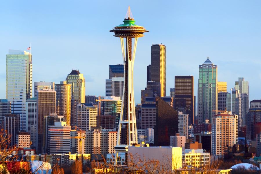西雅圖深度~派克市場、星巴克創始店、太空針塔、微軟總部、雙峰瀑布7日