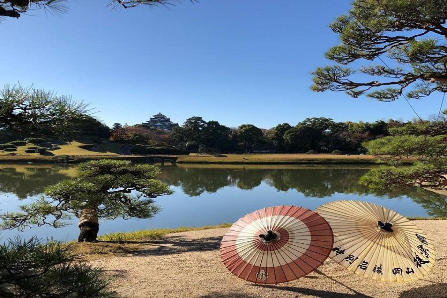 【高松大阪】栗林公園、小豆島、倉敷美觀、岡山後樂園、姬路城、大阪5日
