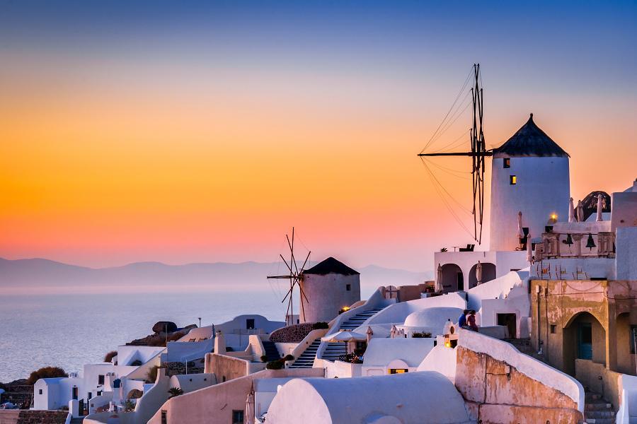 【北進南出】希臘愛琴海10日~天空之城、米克諾斯、聖托里尼雙島遊