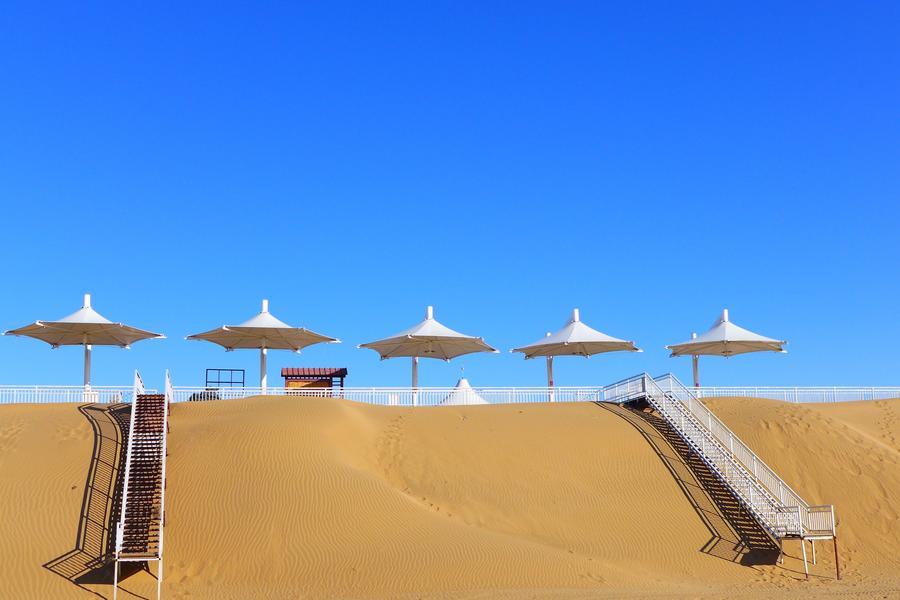 【長榮航空】內蒙昭君博物館、五當召祈福、蒙古包體驗、響沙灣騎駱駝六日