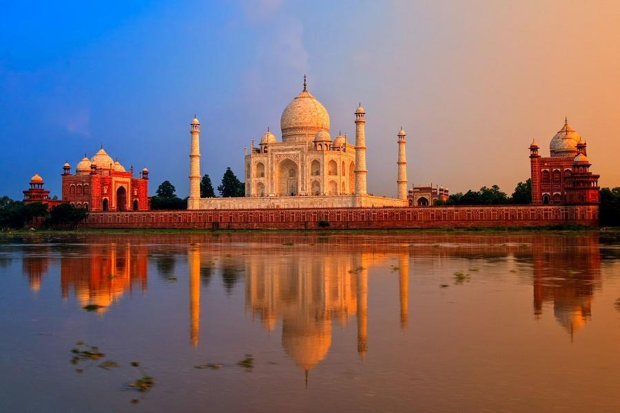 印度帝國玫瑰 捷布 阿格拉 泰姬瑪哈陵 月亮水井 安珀堡5天