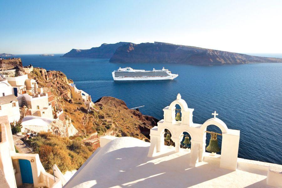 【奇緣公主號】雅典、聖島、黑山、西西里vs藍洞與愛琴海11日