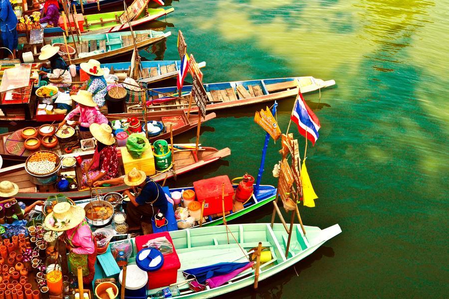 【曼谷泰玩美】曼谷放鬆自由行5+1日 (體驗手做泰式料理、享受泰式按摩;酷鳥航空)