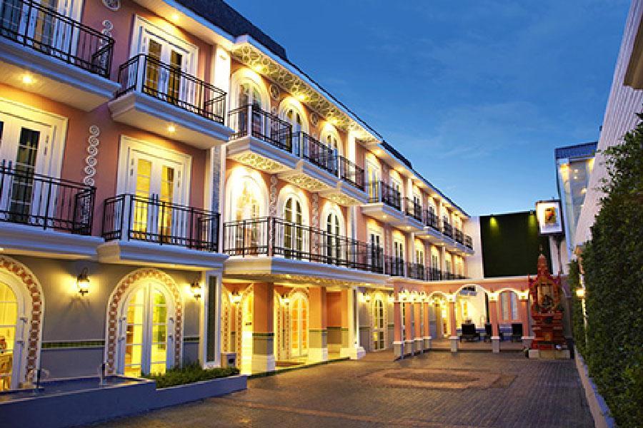 【英倫歐風網美好好拍】曼谷素坤逸薩利系列酒店Salil Hotel 自由行5+1日(酷鳥航空)
