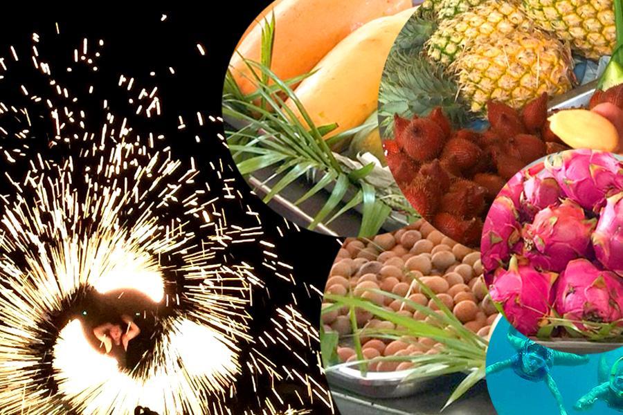 【陽光沙美島浮潛】羅永水果園吃到飽熱情火把秀之夜沙美曼谷5日(贈送導遊小費)