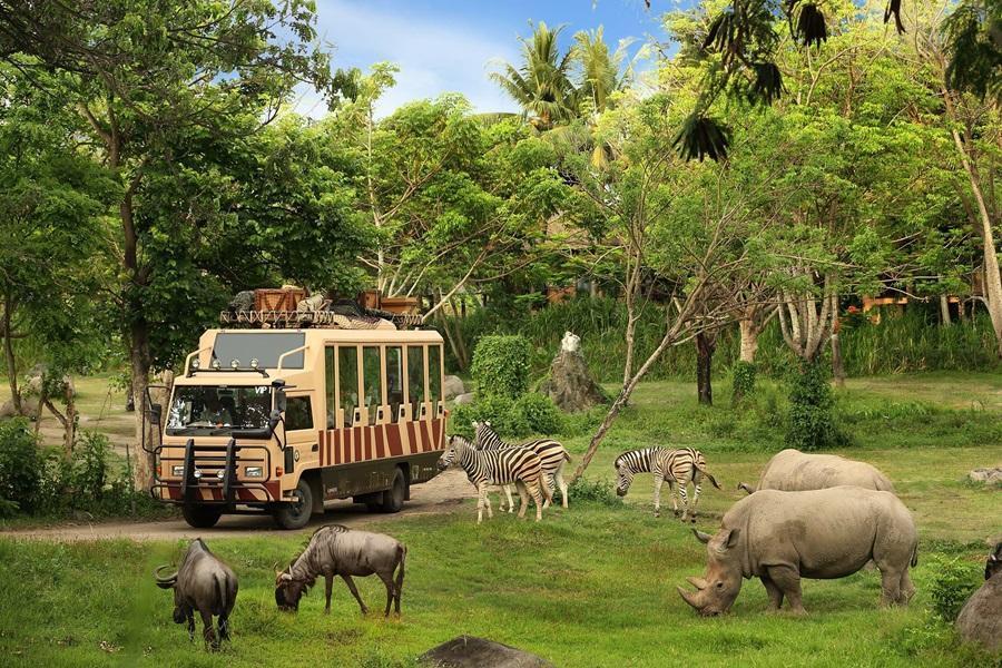 【親子 i峇里 】狩獵小屋野生動物園 + 努沙杜瓦區5星酒店峇里島自由行5日