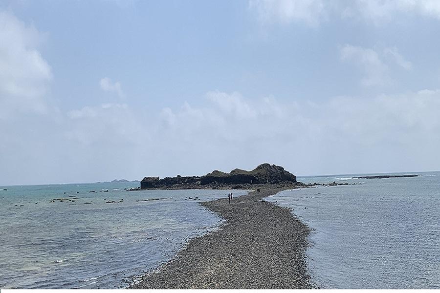 【金色雙島】海洋牧場、虎井、桶盤、摩西分海、古蹟巡禮三日(高雄出發)