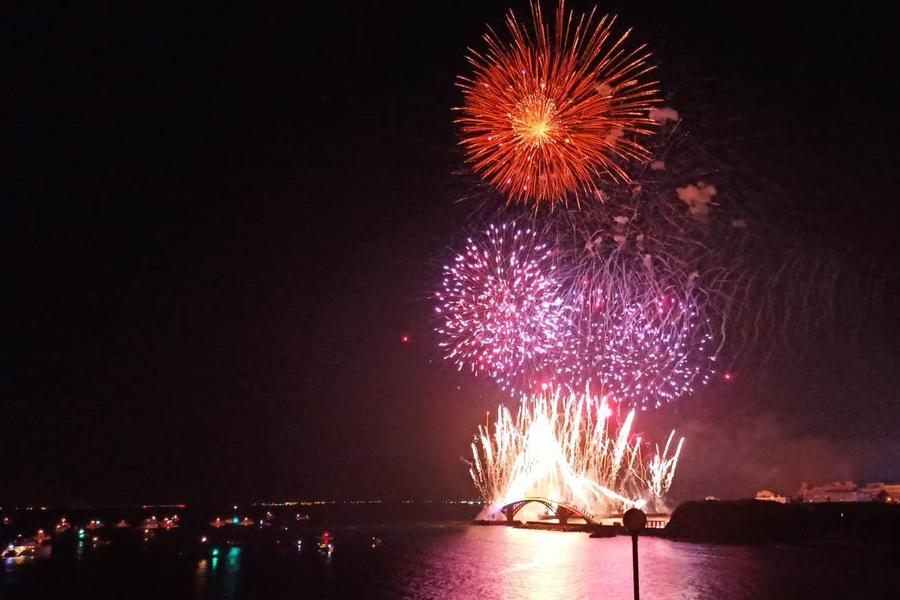 【澎湖花火節】海上花火船、東海巡航、快樂渡假村三日_高雄出發