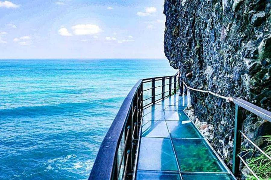 太魯閣峽谷•花蓮海岸親不知子斷崖天空步道•礁溪捷絲旅湯泉假期三日