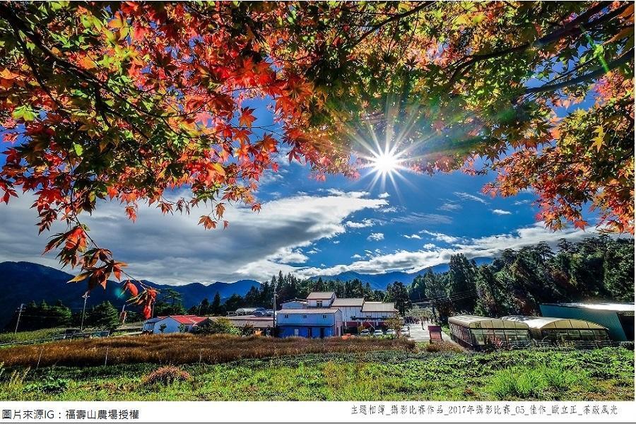 漫遊中橫合歡山、福壽山農場、梨山賓館1956秘密花園二日